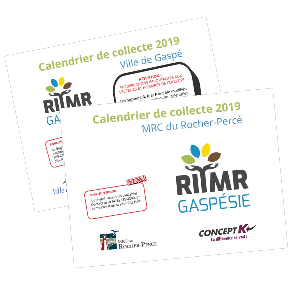 Calendriers 2020